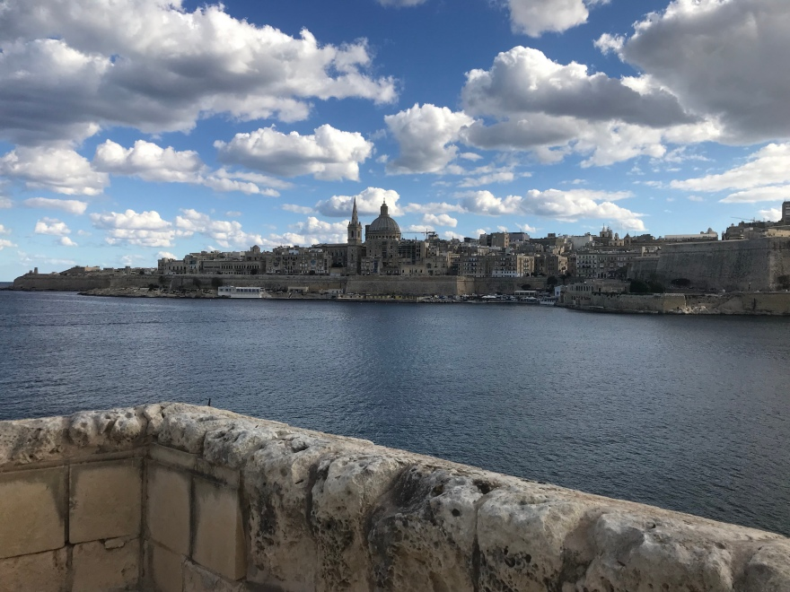 view on Valetta Malta