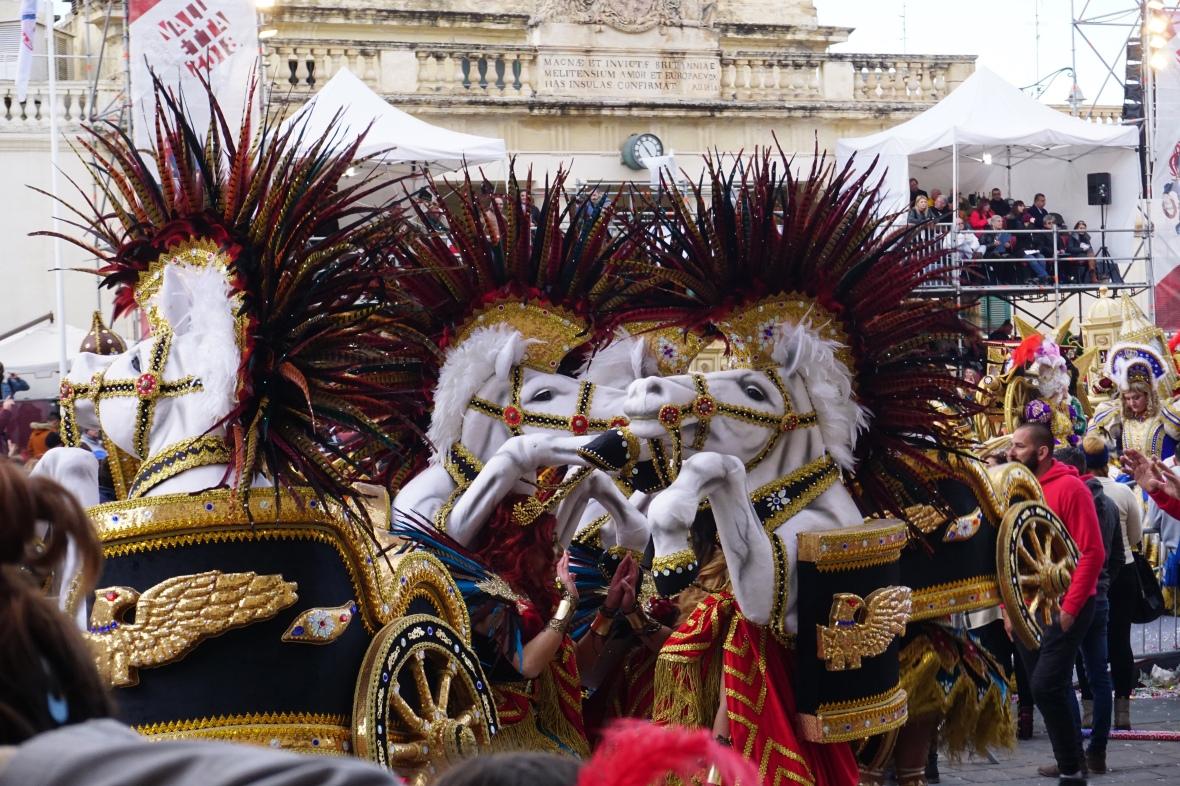 horse costumes carnival Malta