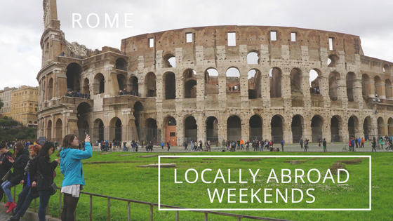 Colosseum Writing Locally Abroad Weekends Rome